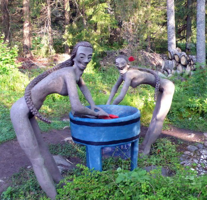 גן הפסלים המצמרר בפינלנד