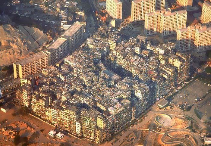 צפיפות בהונג קונג