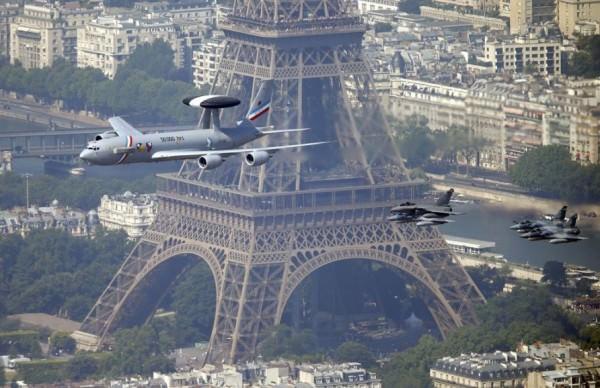 תמונות אוויריות של פריז