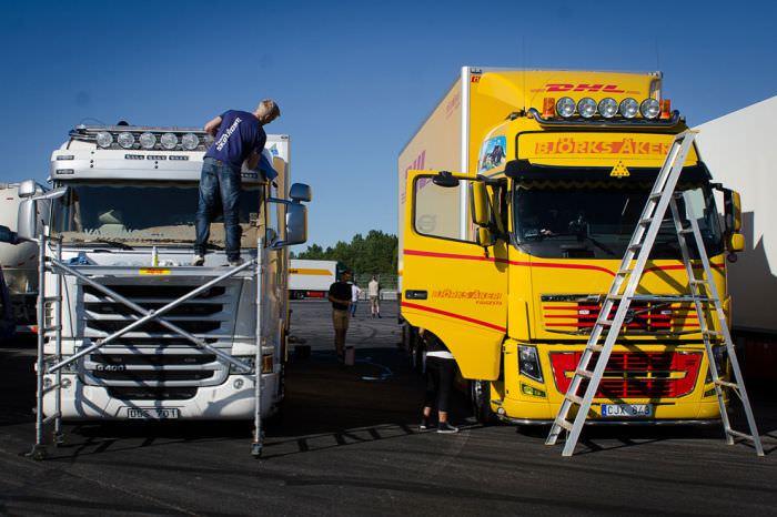 תערוכת משאיות