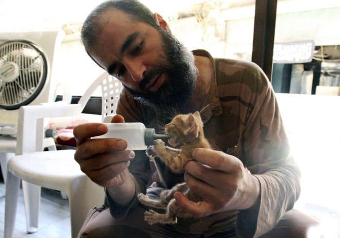 רגעים מרגשים בסוריה
