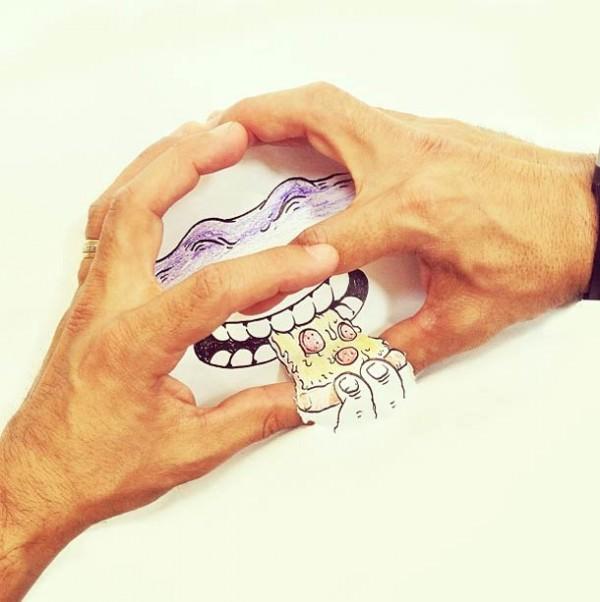 אומנות בין האצבעות