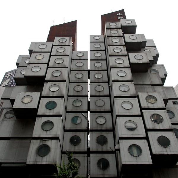 מגדל הקפסולות ביפן