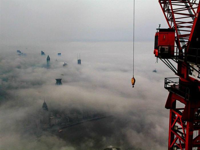 תמונות מדהימות של שנגחאי מלמעלה