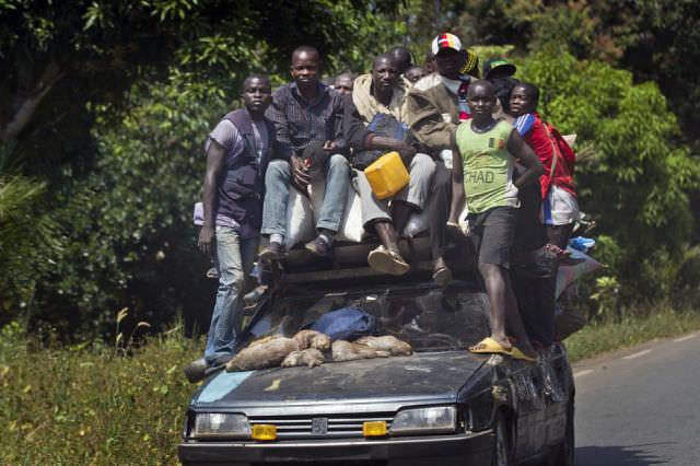 תמונות הזויות מאפריקה