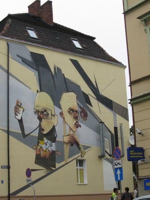 אמנות רחוב פולנית
