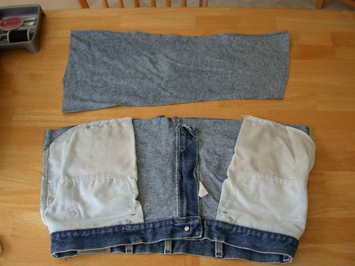 איך להכין תיק מג'ינס ישן