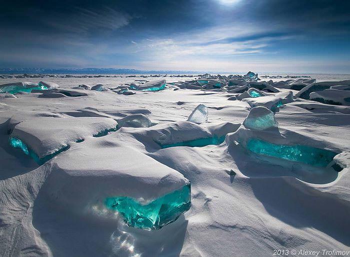 שלג, קרח