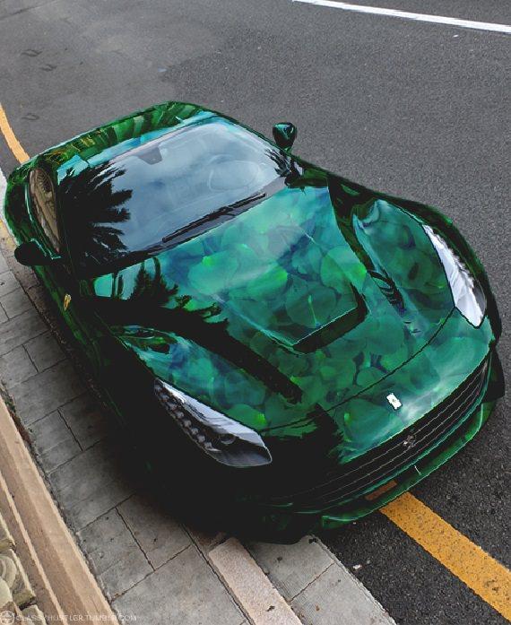 מכוניות צבועות