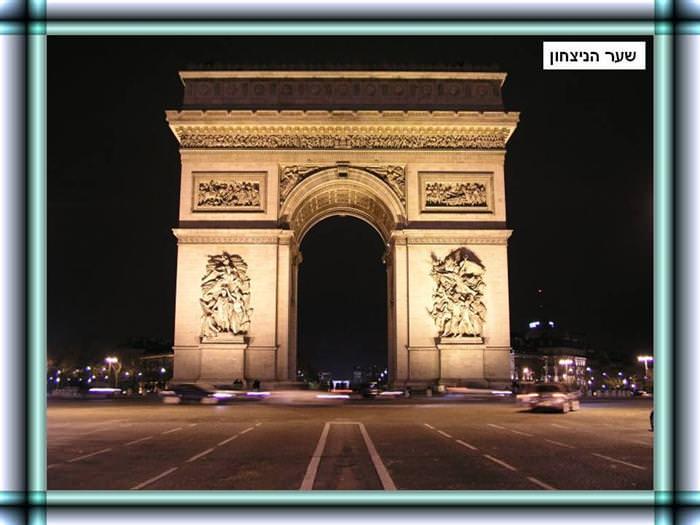 אתרים מפורסמים בפריז