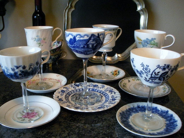 שימושים לכוס תה ישנה