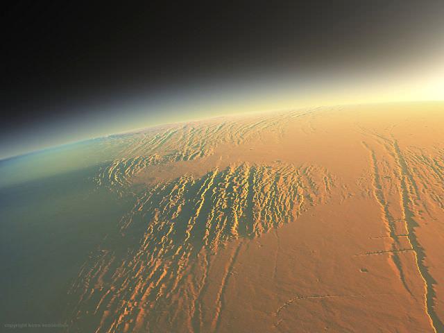 זריחה על מאדים