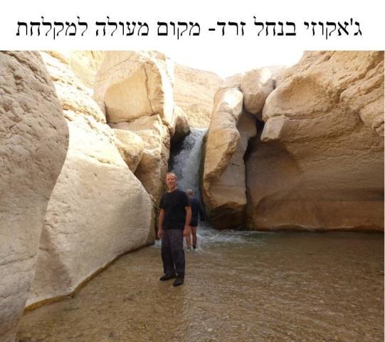 טיול בנחל זרד