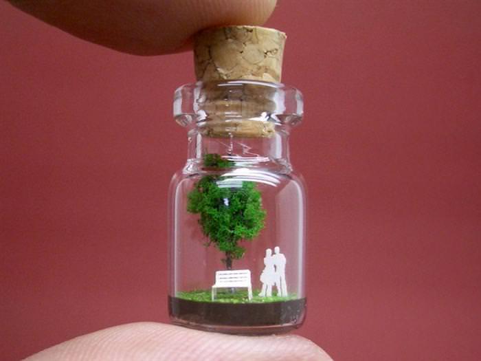 פסל בבקבוק