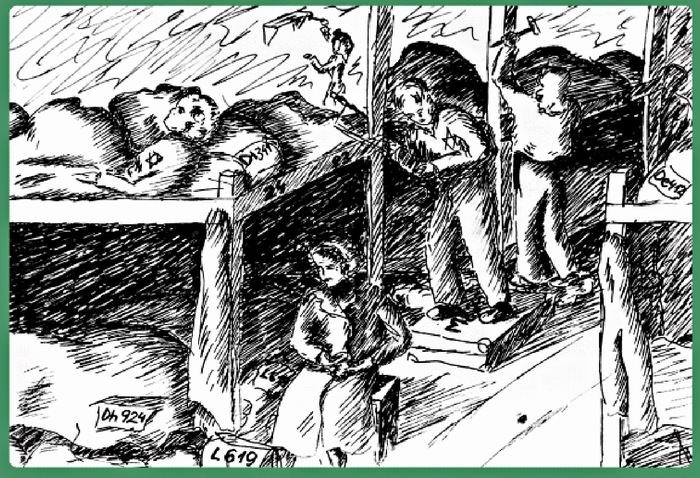 ציורי ילדים מהשואה