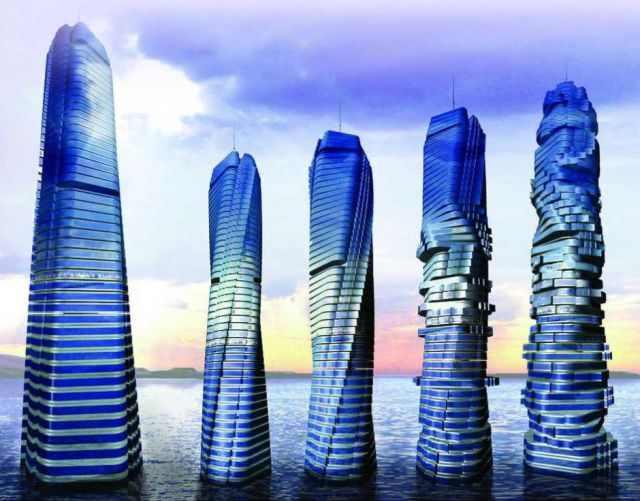 מבנים ארכיטקטוניים מדהימים