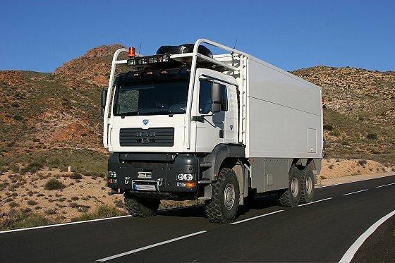בתי משאיות