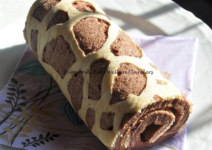 רולדת ג'ירפה שווייצרית - מתכון לקינוח פראי!