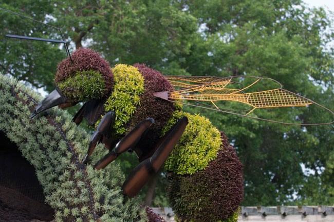 פסלי צמחייה