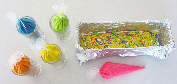 עוגת יום הולדת עם מספר בפנים