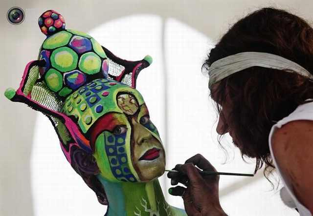 פסטיבל ציורי גוף