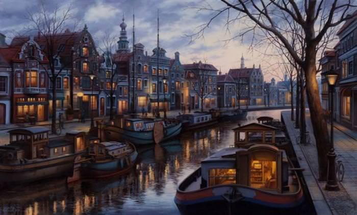ציורי מקומות בעולם