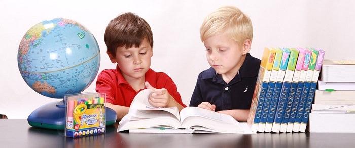 ילדים קוראים מספר
