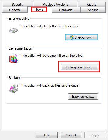 הוראות על החזרת המהירות שאבדה למחשב