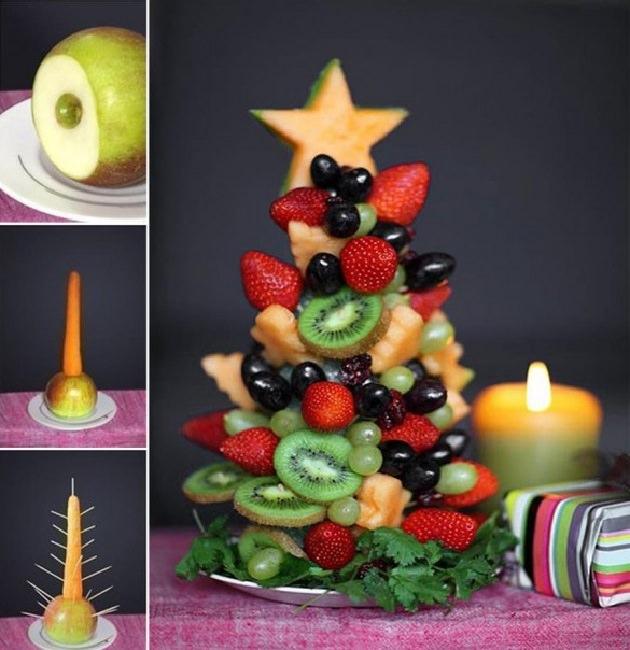 7 סידורי פירות מדליקים