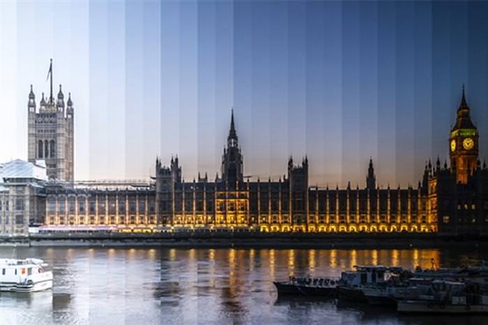 תמונות מדהימות של פערי זמן