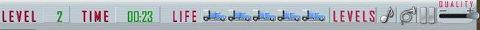 משחק חניית משאית