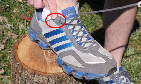 חור השרוכים המיותר בנעלי ספורט