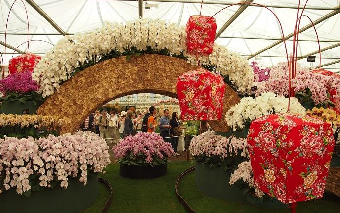 תערוכת הפרחים בצ'לסי