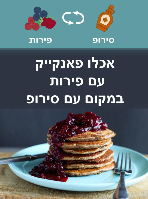 תחליפים בריאים במטבח