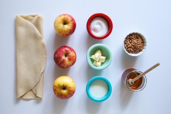 קינוח תפוחים עם דבש