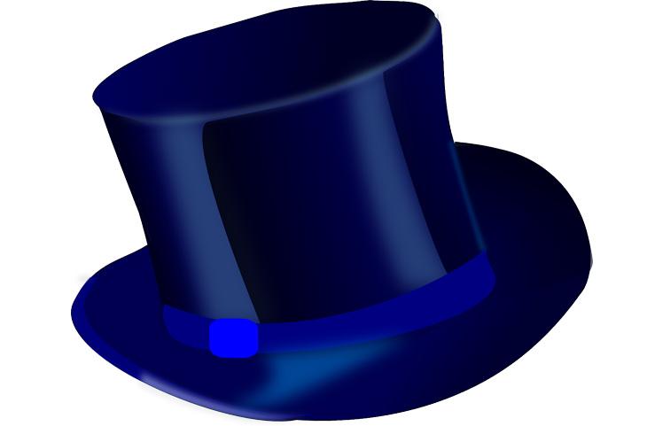 כובע כחול