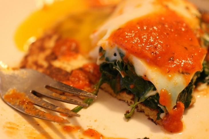 פסטה עם תרד וארטישוק