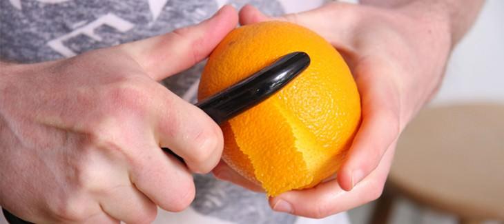קילוף קליפת תפוז