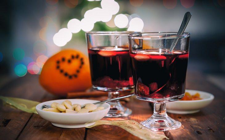 משקה יין ושוקולד
