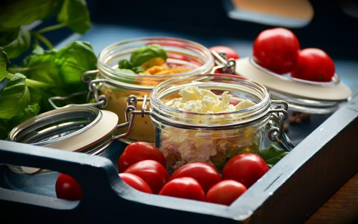 מרכיבים לאוכל איטלקי