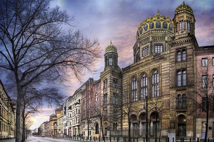 בית הכנסת החדש, גרמניה
