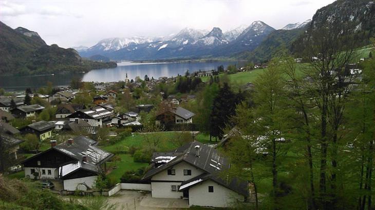 ערים ועיירות קטנות באוסטריה