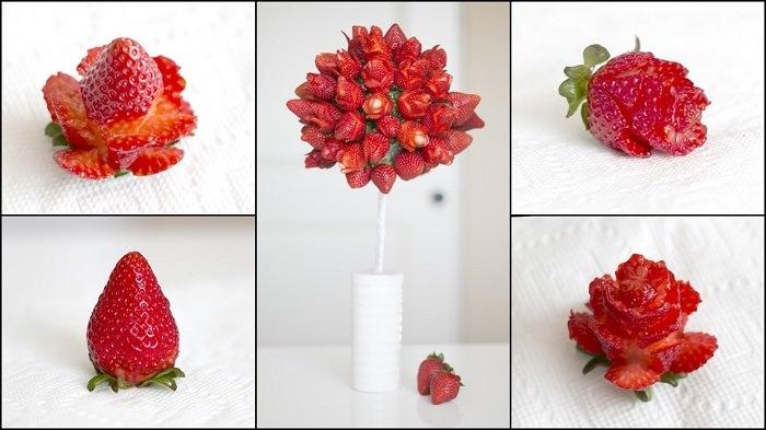 מתכונים בצורת פרחים