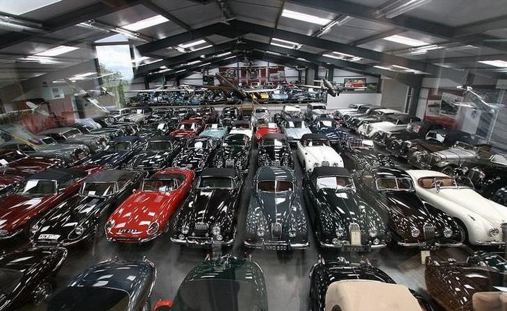 אוסף המכוניות של ג'יימס הול