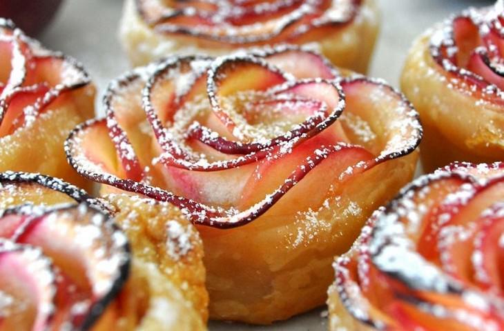 מתכון למאפה פרח תפוח