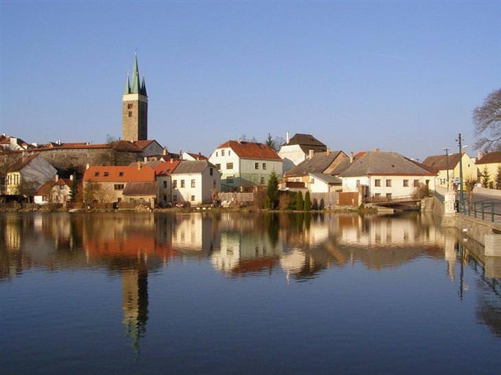 עיירות ציוריות בצ'כיה