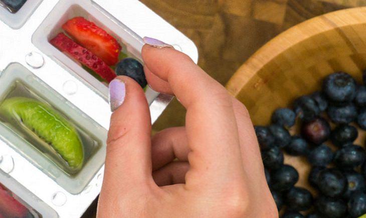 ארטיק פירות בריא בהכנה ביתית