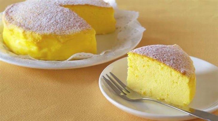 עוגת גבינה עם 3 מרכיבים