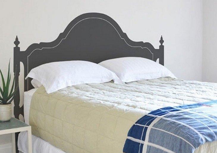 ראש מיטה מצויר
