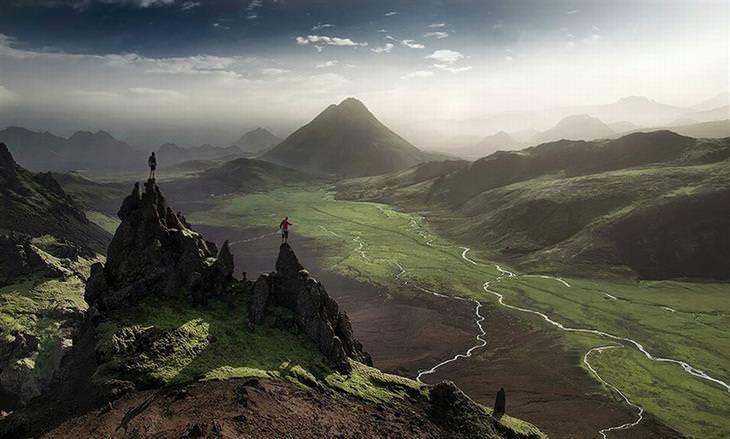 נופים מדהימים באיסלנד